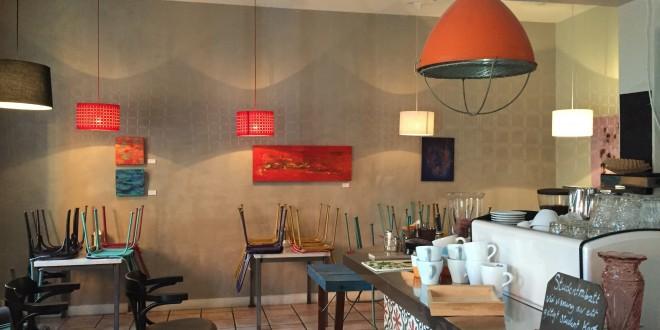 Utställning på Café Amalia 2015